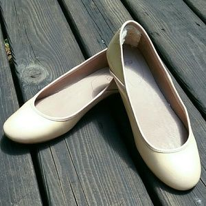 UGG Patent Leather Ballet Flats